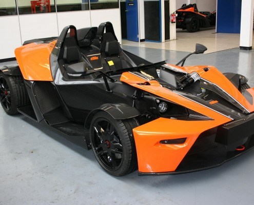 KTM X-Bow paint protection film
